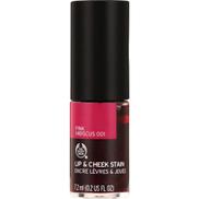 The Body Shop Lip & Cheek Stain 001 Pink Hibiscus 7.2ml