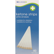 Clicks Ketone Strips