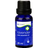 Clicks Pure Essential Oil Lavender 20ml