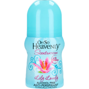 Oh So Heavenly Scentsations Lily Lovely Anti-Perspirant Roll-On 50ml