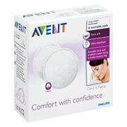Avent Washable Breast Pads 6 Pads