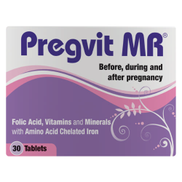 Pregvit Mr Pregnancy Supplement 30 Tablets