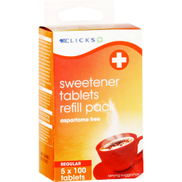 Clicks Sweetener Tablets Refill 500 Tablets