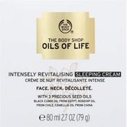 The Body Shop Oils Of Life Intensely Revitalising Sleeping Cream 50ml