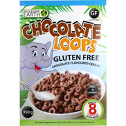 Wholesome Earth Gluten Free Chocolate Loops Cereal 350g