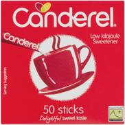 Canderel Low Kilojoule Sweetener 50 Sticks