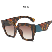A D Fashion Style Square Oversized Sunglasses Women Luxury Brand