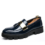 Tauntte Summer Men Slip On Boat Shoes Fashion Casual Moccassin Blue