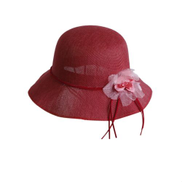 Generic Straw Sun Hats Women Flowers Beach Cap