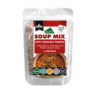 Royal nutrition Soup Mix - Spicy Mexican Tomato Lentils, Barley & Peas - 6 Servings