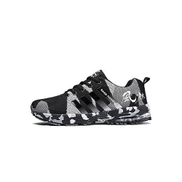 Fashion Men Casual Running Shoes Sports Sneakers Black-Black