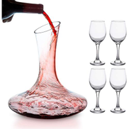Eco Wine Glasses With Decanter