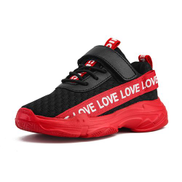Fashion Velcro casual sports children's shoes-Red