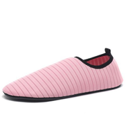 Tauntte Beach Shoes Swimming Yoga Shoes Slip On Hiking Treadmill Driving Loafers Rose