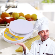 Generic WH-B04 5kg 1g LCD Digital Electronic Kitchen Scale for Food Balance Weighing