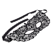 Generic SALE Halloween Masquerade Sexy Lady Black Lace Mask hollow out Catwoman Batman veil