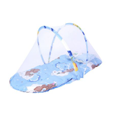 Generic Baby Bedding Crib Netting Folding Mosquito Nets Bed Mattress Pillow Suit For 0-2 Years Old Children