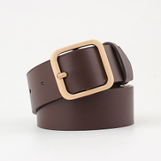 Fashion Ladies Belts Pin Buckle Wristbands Coffee