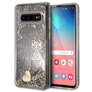 Guess GUESS - Glitter Case Samsung S10 Plus Gold