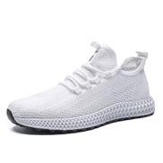 Generic Hollow Sneakers Men Athletic Running Shoes White