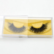 Generic Lashes 3D Mink Eyelashes Volume Mink EyeExtensions Thick Mink Lashes Cruelty free Fluffy Natural False Lashes R02R03