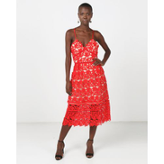 Princess Lola Boutique - Jezebel Gown - Red
