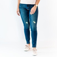 Giordano Mid-Rise Stretchy Slim Tapered Jeans