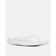 Fitflop iQushion Flip Flops Urban White