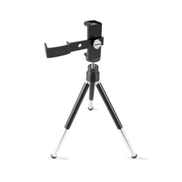 Generic Smartphone Tripod For Osmo Pocket Multi Functional Aluminum Alloy Mount-black & silver